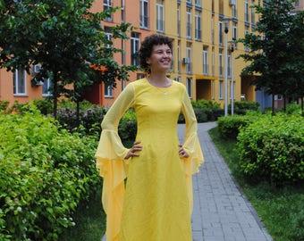 Yellow Dress, Yellow Maxi Dress