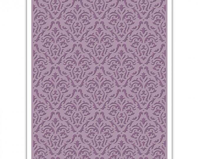 Sizzix Tim Holtz Texture Fades Embossing Folder - Damask 661592