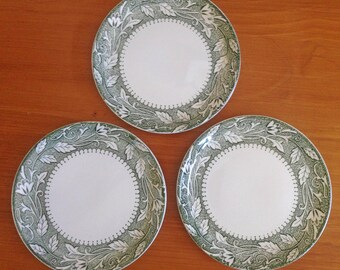 Meakin Renaissance Appetizer Plates - Set of 3