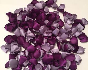 Purple Rose Petals/Plum Petals/Lavender Rose Petals/Scatter Petals/Aisle Petals/Purple Petals/Barn Wedding/Purple Wedding/Pale Purple Petals