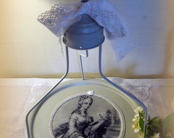 Antique 18th hanging tray
