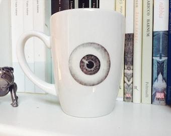 Eye Mug,Anatomy Mug,Coffee Mug,Goth Mug