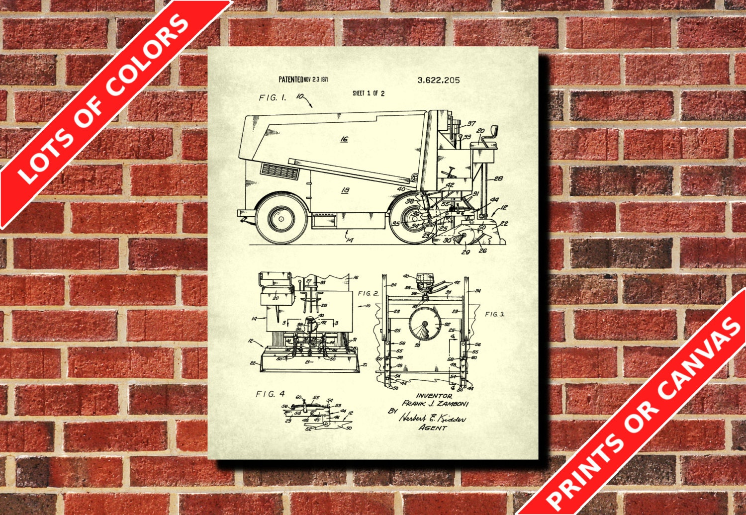 Ice rink machine patent print ice hockey rink blueprint zoom malvernweather Image collections