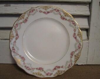 Vintage L. Bernardaud and  Co.   D and  C   France  Limoges plate