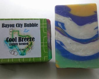Clearance - Cool Breeze Bar Soap - lightly Scented