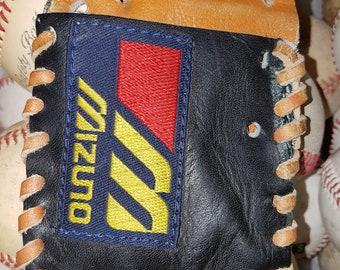 Repurposed Baseball Glove Wallet - Mizuno