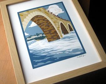 Stone Arch Bridge Print