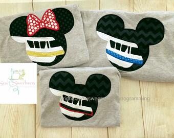 Mickey Monorail Shirt