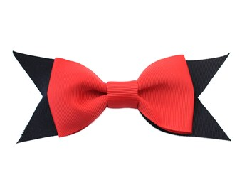 Dog Collar Bow Tie, Red Dog Bow Tie, Pet Collar Bow Tie, Martingale Collar Bow Tie, Dog Bow Ties, Holiday Bow Tie, Martingale Collar Bow Tie