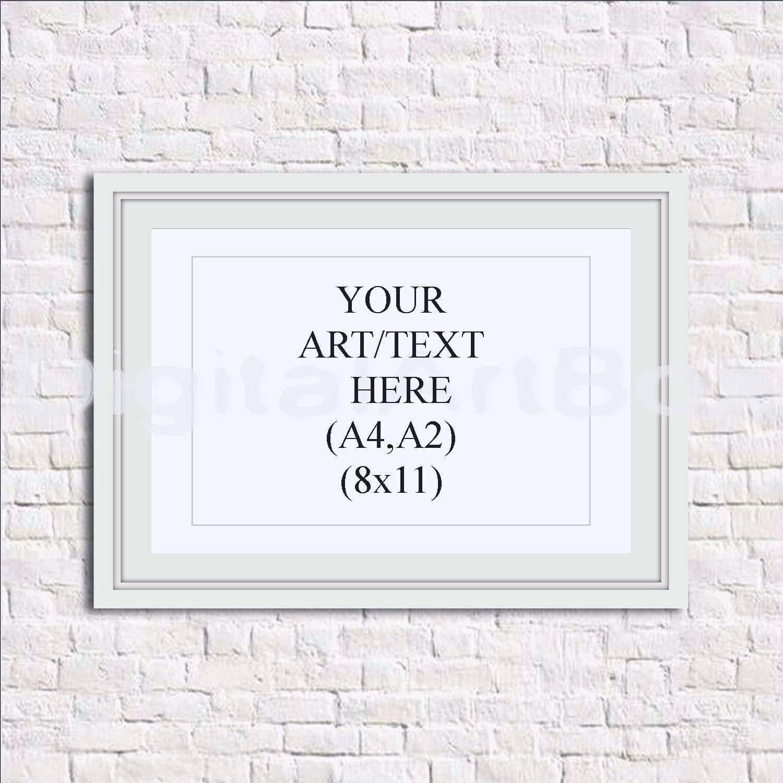 DIY Poster Frame A4 Picture Frame,A2 White Frame,8x11 White Frame ...