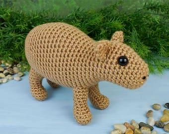 PDF Capybara amigurumi CROCHET PATTERN