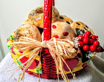 Bagel/Muffin Basket (medium)