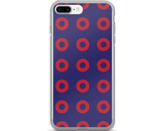 PH Fishman Red Donuts Red Circles iPhone 7/7 Plus Case