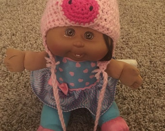 Newborn pig hat. *Adorable photo prop!*