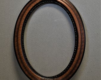 14x20 Reproduction Oval Frame Large Optional Convex Glass