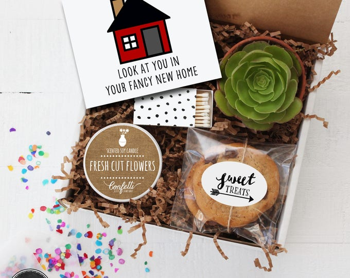 New Home Gift Box - Realtor Gift | Customer Appreciation Gift | New Home Purchase Gift | Gift From Realtor | Client Gift