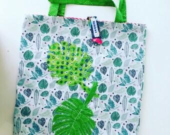 Foldable tote bag - multifunction bag