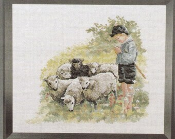 Oehlenschlager Collection Cross Stitch Pattern. Little Sheep Herder. 76610.