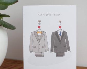 LGBT Happy Wedding Day Card