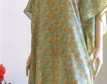 Floral Kaftan, Caftan, Cover up, gifts for her