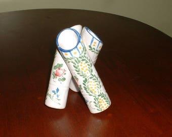 Vintage Cluster Of Three Vases      Made in France    Unusual