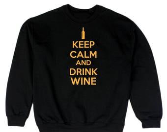 Keep Calm And Drink Me Men's Sweatshirt