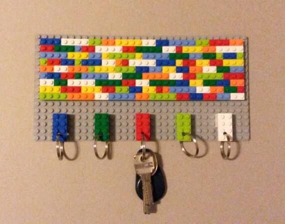 LEGO® key hanger 7 geometric colourful home decor