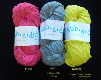 Rub A Dub Microfiber Yarn