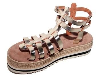 B6B Leather shoe, Anatomic,Handmade, Sandal