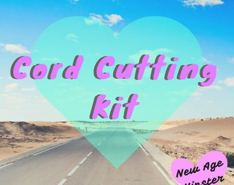 Cord Cutting Kit - PDF Workbook + MP3 Meditation