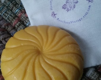 Scent Free Swirled Lotion Bar, Organic Ingredients, Honey Bee Blessings