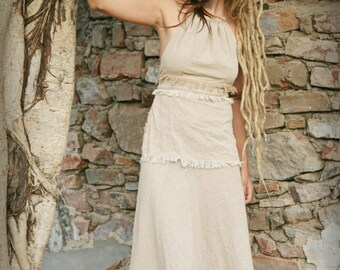 Gypsy Top ~ Raw Cotton ~