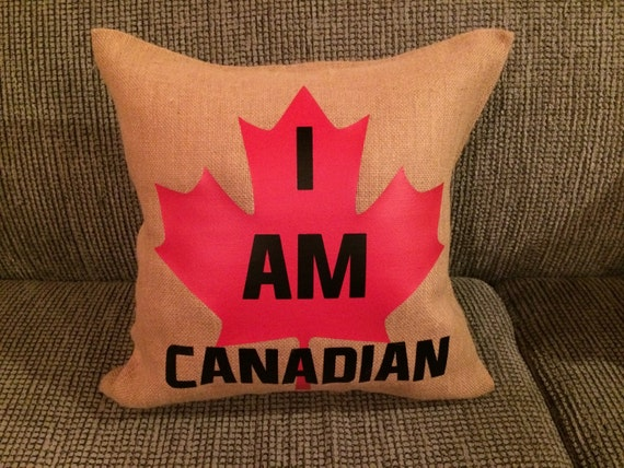 Custom I Am Canadian Pillow Cover by PersonalizePrincess1
