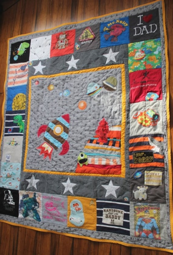 Custom Memory Quilt Using Baby Clothes Old Clothes Or Special