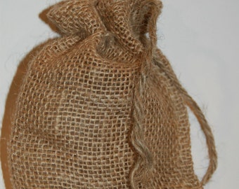 Burlap Bags 25 Wedding Burlap Favor Bags  Rustic Wedding  Burlap Bags 4x6