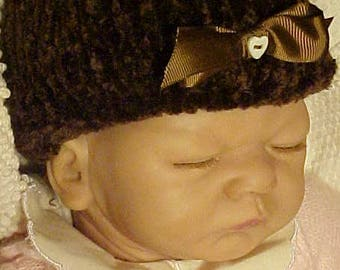 On Sale Now~~INFANT~BABY~Small Child's Hand Knit Cap~~Keep Him/Her Nice and Warm with this Hand Knit Winter Cap~~Could be Worn Year Round