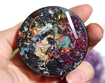 Orgonite® - Handmade - Orgone Generator® - EMF Protection - Cleansing - Orgone Energy - Crystals - Gift - Love - HoodXHippie
