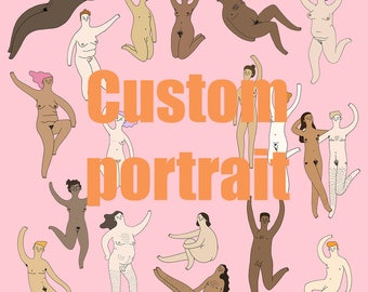 Customised Portrait • Commission • You're Welcome Club