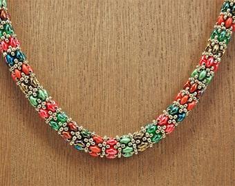Dream Catcher Winter Necklace