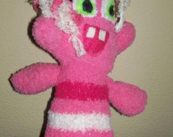 Baby Pinky Sock Monster.