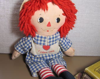 Vintage Doll - Bedtime Raggedy Andy