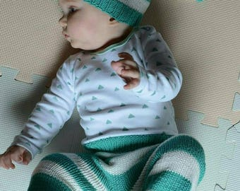 Cap-CAP and pants for baby