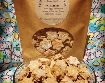 Roast Lamb Dog Cookies