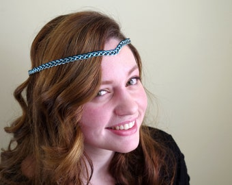Ocean Waves Braided Circlet   |   Fully Adjustable