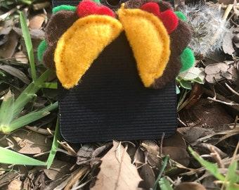 Mini Taco Earrings