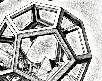 THE square / / solid Plato - dodecahedron