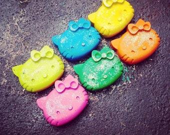 Hello Kitty Glitter Crayons