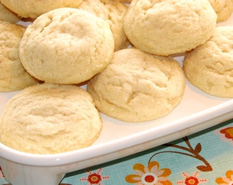 Double Vanilla Shortbread Cookies