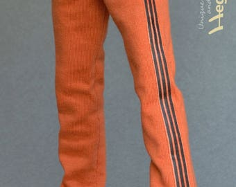 1/6th scale sweatpants / tracksuit bottoms for male action figures