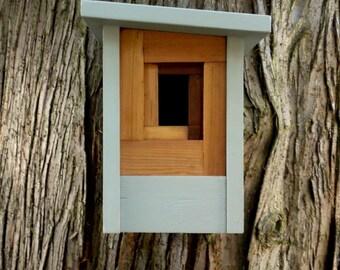 Birdhouse, modern craftsman- The Camera Shutter